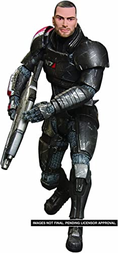Mass Effect 3  Shepard Series 1 figurine