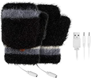 OneV FT 手袋 USB手袋 ヒーターグローブ 手袋 USB接続で加熱 あったか手袋 パソコン作業 PC モバイルパワー モバイルバッテリーなど 洗える 急速加熱 炭素繊維加熱 防寒対策 男女兼用 ヒーター手袋 指先 温かい ヒーター内蔵 ...