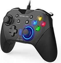 OPOLAR Wired Gaming Controller, PC Gamepad Joystick with Dual Vibration, Remap M1-M4 Triggers, Game Console for Windows 7/...