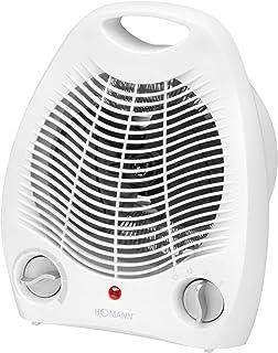 Bomann HL 1096 CB Calefactor, 2 Niveles de Temperatura, función Ventilador, 2000 W, Blanco