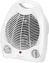 Bomann Heizlüfter HL 1096 CB, 2 Heizstufen 1000/2000 Watt, Kaltstufe Ventilator, weiß