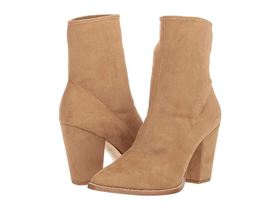 Pelle Moda Natasha (Latte Stretch Suede) Women