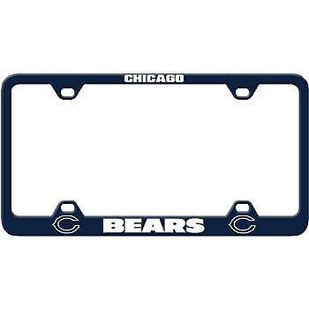 Fremont Die NFL Fan Shop Laser Engraved License Plate Frame 6 x 12