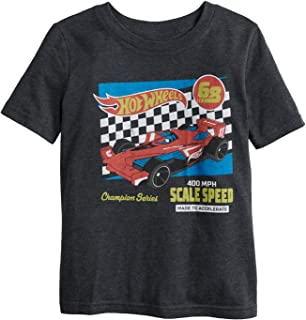 Jumping Beans Little Boys' 4-12 Made to Accelerate Hot Wheels Tee