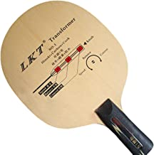 LKT Transformer NO.1 (L 2010) Hinoki+Carbon+Cork Table Tennis Blade for Ping Pong Racket, Short(Penhold)-CS