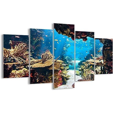 Triptyque Mural avec Un Nombre Différent D'élément - Décoration Murale - Impression sur Verre - pour la Chambre et Le Salon - Divers imprimés - GEA150x100-2872