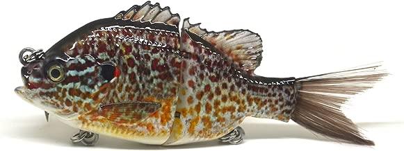 Largemouth Bass Pike Muskie Striper Fishing Lure Bait Swimbait Life-Like Panfish Sunfish Bluegill Redbreast Pumpkinseed Bluegill