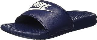 Nike Benassi Jdi, Men's Beach & Pool Flip Flops, Blue (Midnight Navy/Windchill), 9 UK (44 EU)