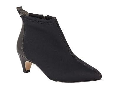 Walking Cradles Billie (Black Stretch Fabric/Black Cashmere) Women