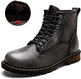 Light Genuine Leather Autumn Men Boots Winter Waterproof Ankle Boots Martin Boots Outdoor Working