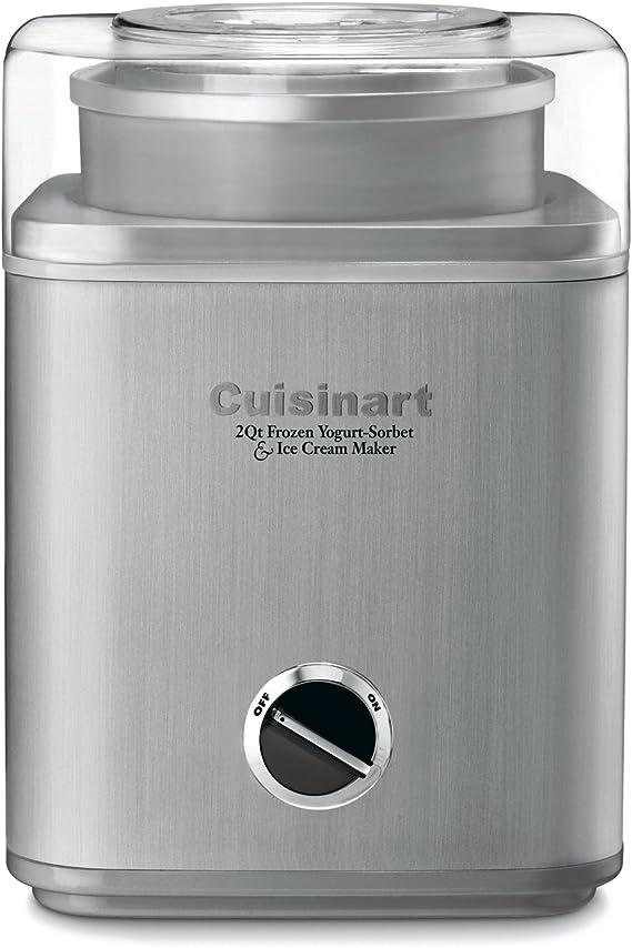 Cuisinart ICE-30BC Pure Indulgence 2-Quart Automatic Frozen Yogurt