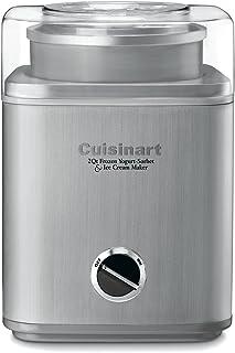 Cuisinart ICE-30BC Pure Indulgence 2-Quart Automatic Frozen Yogurt, Sorbet, and Ice Cream Maker - Silver