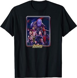 Marvel Avengers Infinity War Group Poster T-Shirt