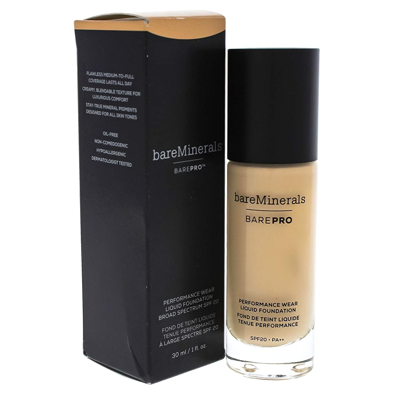 免除するエアコン煙ベアミネラル BarePro Performance Wear Liquid Foundation SPF20 - # 09 Light Natural 30ml/1oz並行輸入品