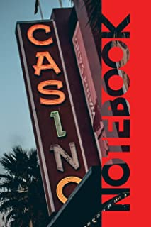 Notebook: Las Vegas Casino Elegant Composition Book for Gambling Probability and Statistics