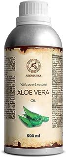 Aloe Vera Pure Oil 500ml - Aloe Barbadensis - Brasil - Skin