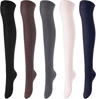 Best navy over the knee socks Reviews