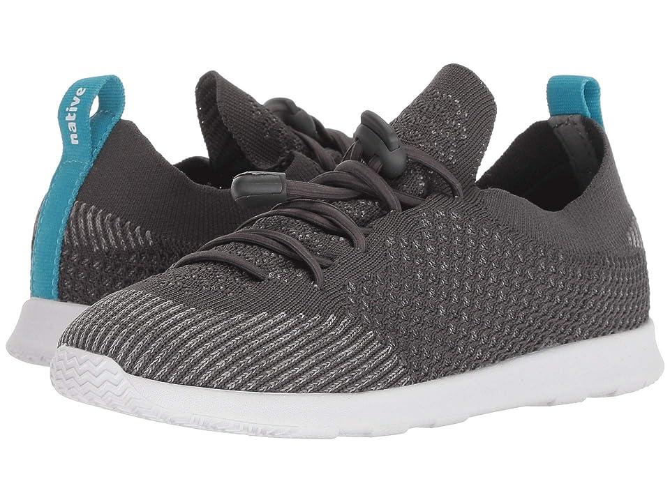 Native Kids Shoes AP Mercury Liteknit Toggle (Little Kid/Big Kid) (Dublin Grey/Shell White) Kids Shoes