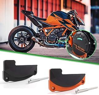 XX eCommerce Motorrad Recht Motor Stator Abdeckung Schutz Fall Schieberegler Bewachen Beschützer für K T M 1290 Super Duke R GT RC8 (Schwarz)