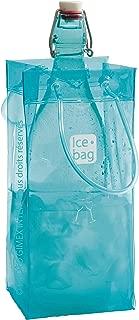 Gimex 17404Ice Bag Basic Wine Cooler 1Bottle Frost Blue 30x 15cm