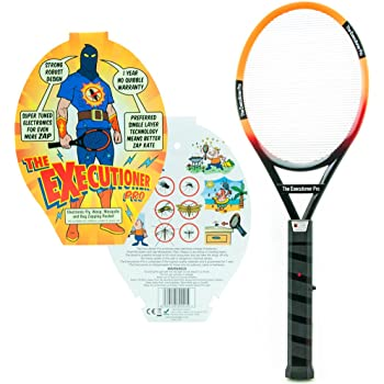 The Executioner Pro Fly Killer Mosquito Swatter Racket Wasp Bug Zapper Indoor Outdoor Over 55cm Long