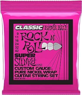 Ernie Ball Classic Pure Nickel Super Slinky Set.009 - .042