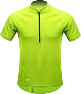 INBIKE Men's Cycling Road Bike Jersey Short Sleeve with 3 Rear Pockets, Moisture Wicking, Breathable, Quick Dry Biking Shirt