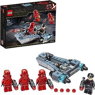 LEGO Star Wars, Coffret de bataille Sith Troopers avec speeder, Collection du film L'Ascension de Skywalker, 124 pièces, 7...