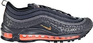 Nike Air Max 97 Big Kids' Shoes Off Noir/Orange Trance/Thunder Grey bv1243-001