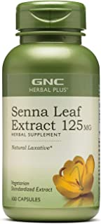 Sponsored Ad - GNC Herbal Plus Senna Leaf Extract 125mg, 100 Capsules, A Natural Laxative