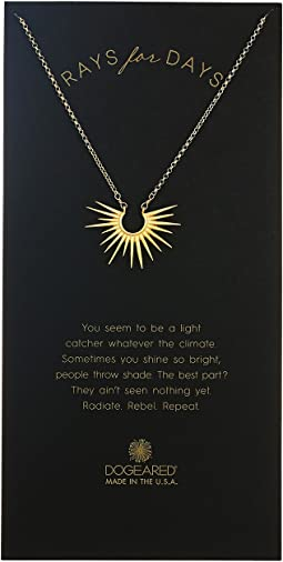 Dogeared - Rays For Days, Medium Radiant Rays Necklace