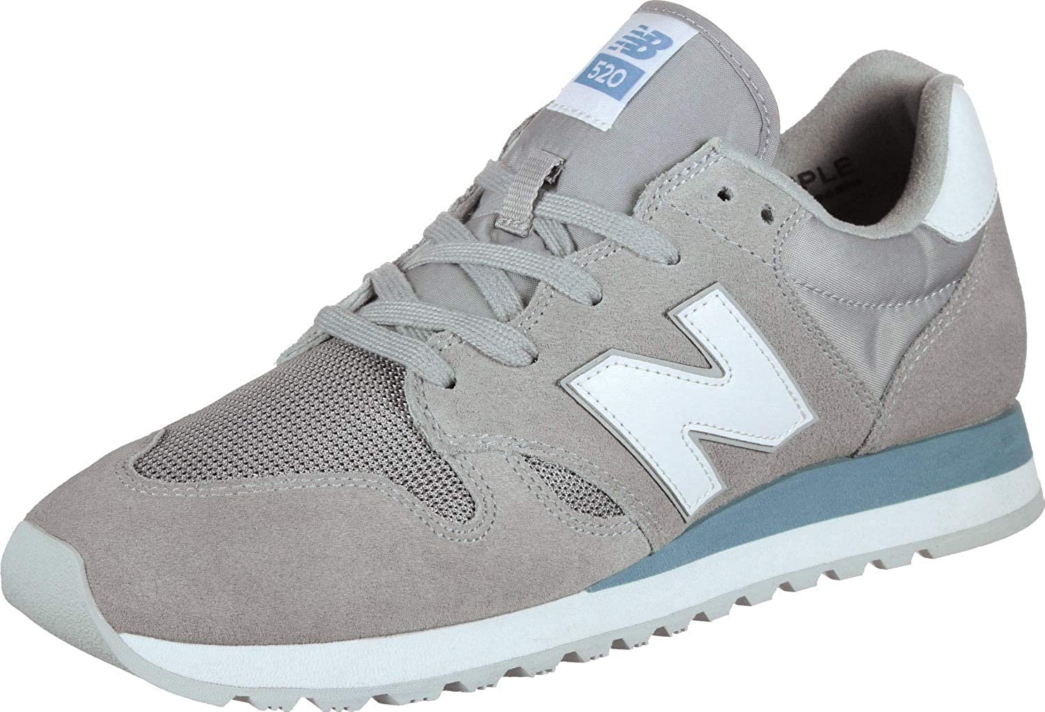 New Balance U 520 GH Steel Grey