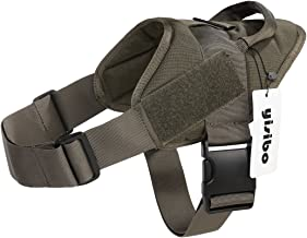 yisibo Service Dog Vest, Nylon Durable Dog Harness with Handle, 4 Color