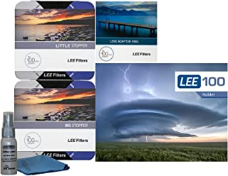 LEE Filters LEE100 77mm Premium Long Exposure Kit - Lee Filters LEE100 Filter Holder, LEE 100mm Big and Little Stopper, 77mm Wide Angle Adapter Ring