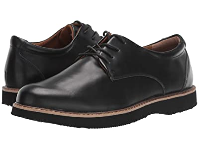 Deer Stags Walkmaster Plain Toe Oxford (Black) Men