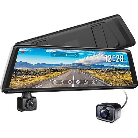Auto Vox A1 Dashcam Car Rear View Camera Dual Dvr Dash Cam 9 88 Inch 1080p Full