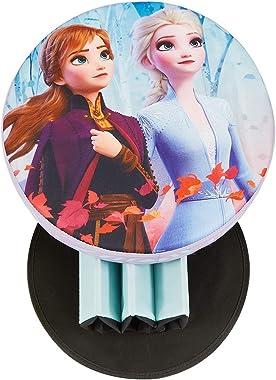 Fresh Home Elements Disney, 15 toy box ottoman storage, Round Frozen 2