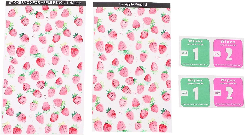 Hemobllo Writing Stylus Pen Stickers Financial sales sale Pens Decals Strawberry Sales Love