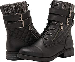 GLOBALWIN Women's The Winter Hipster Boots
