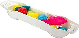 Ubbi Secure Grip Adjustable Extender Bar Bath Tray Caddy + Bath Toy Organizer Storage Bin for Bath Toys for Toddlers + Bab...