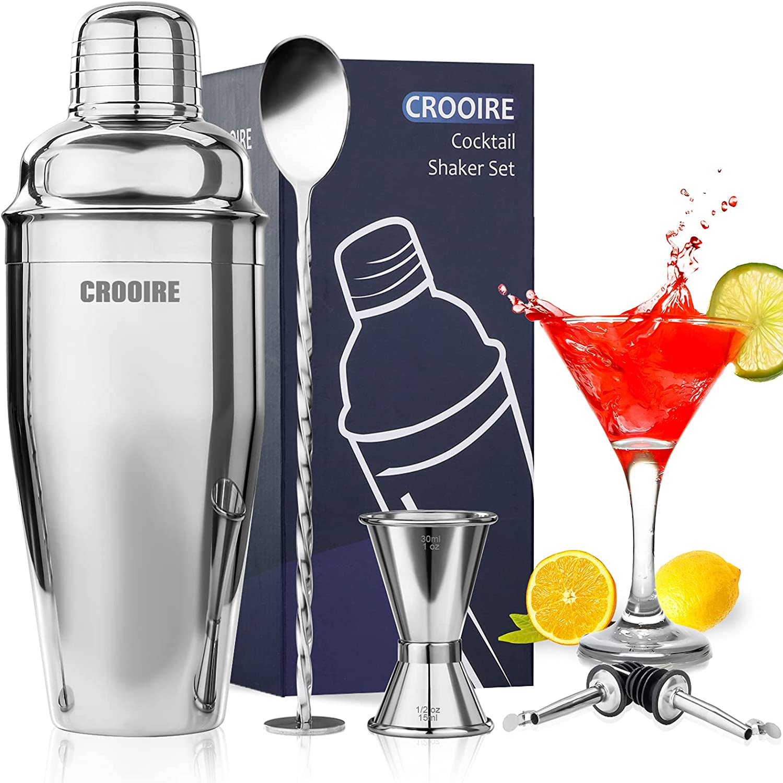 Martini Shaker Cocktail Set - free shipping CROOIRE Kit Drink wi San Antonio Mall