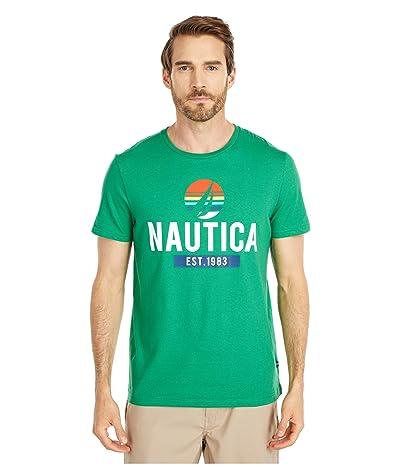 Nautica Graphic Tee (Green) Men