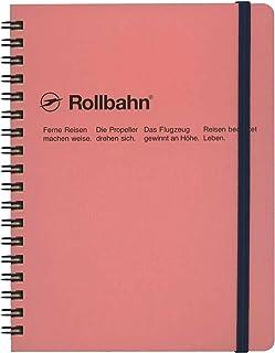 デルフォニックス Delfonics ロルバーン ポケット付メモ L B6変型 ベビーピンク