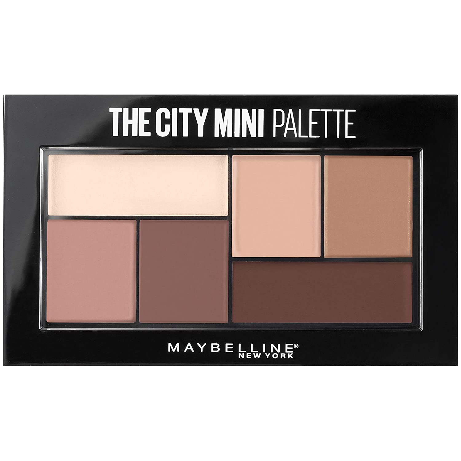 Overseas parallel import regular item Maybelline The City Mini Limited price sale Eyeshadow T Makeup Matte Palette About