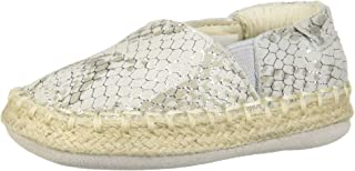 Robeez Girls' Espadrille-First Kicks Crib Shoe