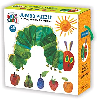 "Mudpuppy The Very Hungry Caterpillar Jumbo Puzzle, 25 Jumbo Pieces, 22""x22"", Great for Kids Age 2+, Fun Illustrations from..."