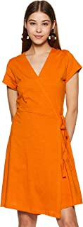 Amazon Brand - Symbol Cotton A-Line Dress