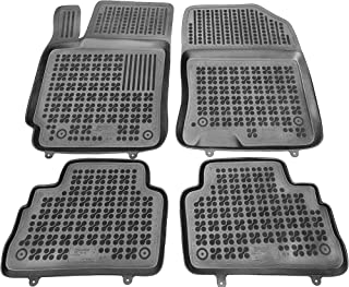 | Accesorios Coche Alfombrilla Suelo Rezaw-Plast Alfombrillas de Goma Compatible con Seat EXEO 2008-2013 + Limpiador de Plasticos Regalo