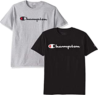 ed81bfa4d131 Champion Men s Classic Jersey Script T Shirt -3 Piece Bundle Includes 2  Shirts Free BE