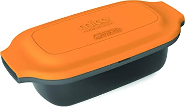 Morphy Richards MICO Multi Cooker Batería de Cocina para microondas, Silicona y Metal Revestido, Naranja